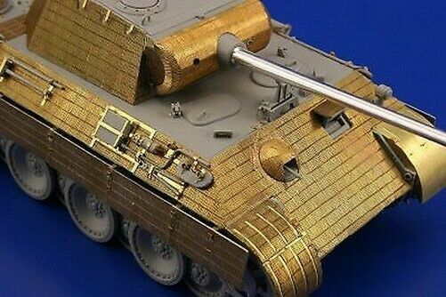 Royaume-UniEduard 1/35 Panther Ausf A Zimmerit #35978