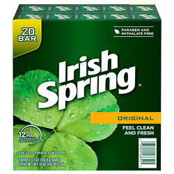Kyпить Irish Spring Original Deodorant Soap (3.7 oz., 20 ct.) на еВаy.соm