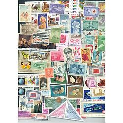 Kyпить Lot of 50 different  MINT US Postage Stamps, Vintage Packet MNH unused на еВаy.соm
