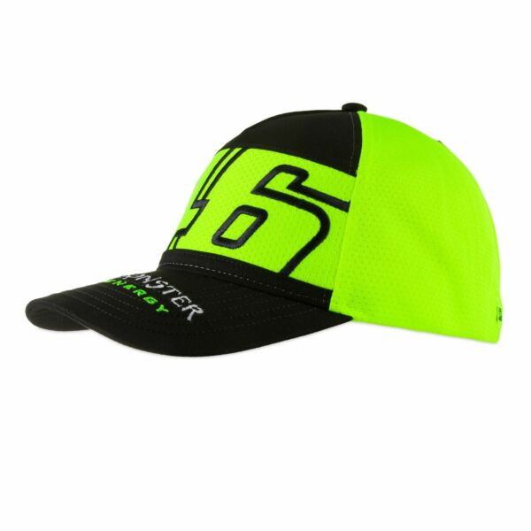 Royaume-UniVR46 Valentino Rossi MotoGP Monster 46 Officiel  Baseball 2020 Jaune