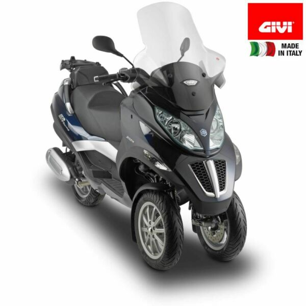 ItalieWindschutzscheibe GIVI D5601ST Ready To Montage Piaggio 125 MP3 Touring Ie