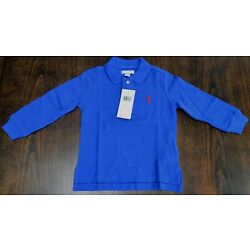 Authentic Polo Ralph Lauren baby polo rugby long sleeve polo shirts $30 tag NWT