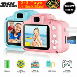 Kyпить 2,0'' LCD Kinderkamera Digitalkamera 1300W mit 32GB TF 1080P Foto Video Camera на еВаy.соm