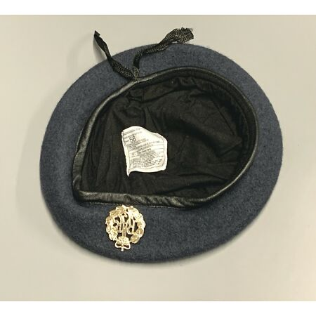 img-NEW Royal Air Force-Issue Beret & Badge. Size 56cm. RAF.