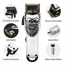Kyпить Professional Cordless Hair Clipper Electric Hair Cutter Machine Kit Rechargeable на еВаy.соm