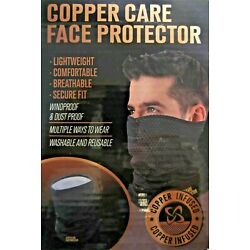 Copper Care Face Protector - Mask - Lightweight Washable  New in Pack