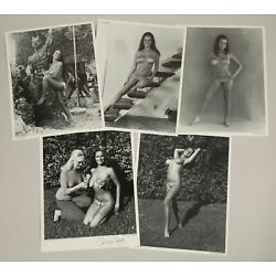 Kyпить NOS Ruth Anderson Set of 5 Pin-Up Lithographs 1 Hand Signed by Bunny Yeager  на еВаy.соm