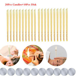 Kyпить 20Pcs Ear Cleaner Wax Removal Candles Treatment Care Healthy Hollow Candles USA на еВаy.соm