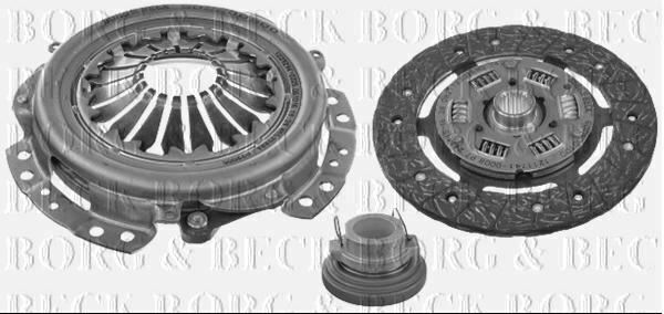 Royaume-UniBorg & Beck Kit Embrayage 3 IN 1 Pour lada  1200-1600 1.5 55 75