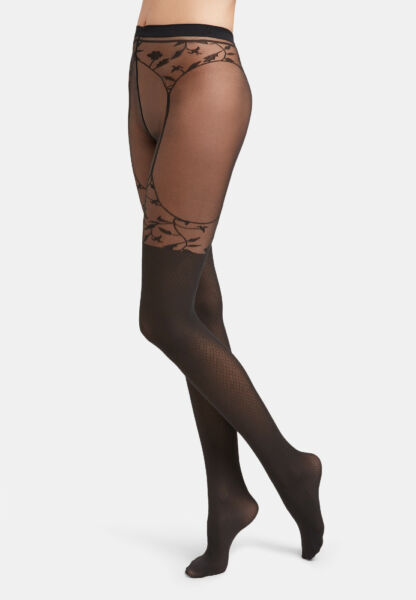 AllemagneWolford Flora Collants à Motif Collants Avec Straps