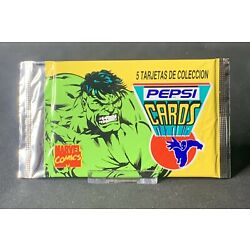 Kyпить 1 PEPSI CARD MARVEL SEALED PACK From 1994 MINT на еВаy.соm