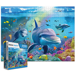 Kyпить 1000 Pieces Jigsaw Puzzles for Adults Kids-SeaWorld Education Learning Tools Toy на еВаy.соm
