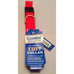 Dog collar by Coastal Pet Products, Red, size L