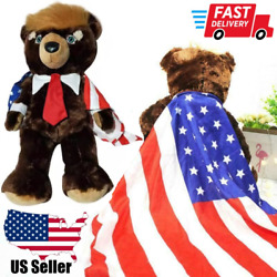 Kyпить Donald Trump Bear Plush Toys New Cool USA Campaign Trumpy Toys Limited Edition на еВаy.соm
