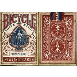 Kyпить BRAND NEW Bicycle 1900 1900s Red Playing Cards MARKED Deck USPCC ellusionist на еВаy.соm