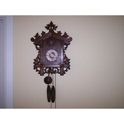 Kyпить Vintage Black Forest Rail Road Cuckoo Clock  на еВаy.соm