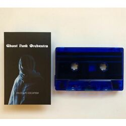 Ghost Funk Orchestra AN ODE TO ESCAPISM New Sealed Blue Colored Cassette Tape