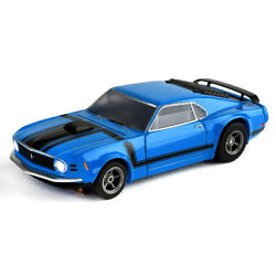 Kyпить Tomy AFX Mega G+ Blue Ford Mustang Boss 302 Clear Collector Series HO Slot Car на еВаy.соm