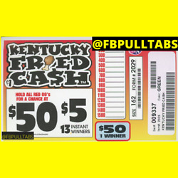 Kyпить KENTUCKY FRIED CASH - 162 PULL TABS - $1 EACH - $47 PROFIT - FREE SHIPPING на еВаy.соm