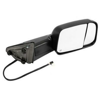 Passenger Side Power Heated Tow Mirror w/Puddle Light for 2010 Dodge Ram 3500