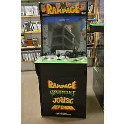 Kyпить Arcade 1Up 4ft Rampage At-Home Arcade Machine Cabinet Gauntlet Joust на еВаy.соm