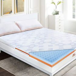 Kyпить Mattress Topper Memory Foam  Lavender CertiPUR-US Certified Foam Pads Queen size на еВаy.соm
