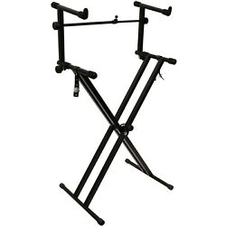 Kyпить Chromacast Double Braced Keyboard Stand And 2 Tier Adapter Bundle на еВаy.соm