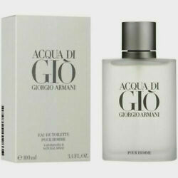 Kyпить Giorgio Armani Acqua Di Gio 3.4oz / 100ml Men's Eau de Toilette New на еВаy.соm