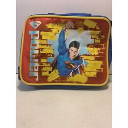 Kyпить Superman Soft Shell Lunchbox With drink bottle...Q на еВаy.соm