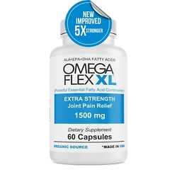 Kyпить  Omega Flex XL (NEW IMPROVED) Extra Strength  3- Potent Joint Pain Relief 60 ct на еВаy.соm