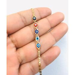 Kyпить Newborn Baby/Children Boy/Girl Gold Filled Evil Eye Bracelet, Pulsera Para Bebe  на еВаy.соm