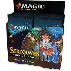 Kyпить Strixhaven Collector Booster Box - MTG - Brand New! Our Preorders Ship Fast!  на еВаy.соm