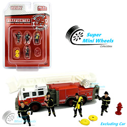 Kyпить American Diorama 1:64 Firefighters Figures 6pcs Set - Metal - Mijo Exclusive на еВаy.соm