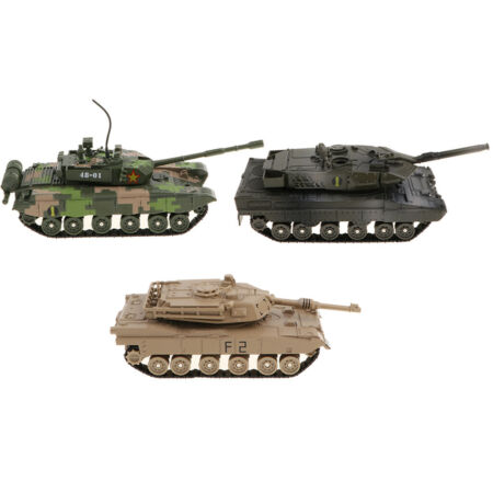 img-KIDS ARMY TANK WITH SOUNDS AND LIGHTS FRICTION FOR CHILDREN TOY