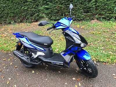 NEW 2021 (21) WK SX125 Scooter Leaner Legal Moped 125 Automatic