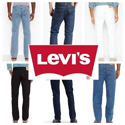 Kyпить Levis 501 Original Fit Men's Jeans Straight Leg Levi's Button Fly 100% Cotton на еВаy.соm