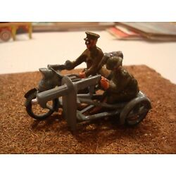 Kyпить BRITAINS WW1 MOTORCYCLE AND SIDECAR TIN LEAD SOLDIER SET FIGURES 54MM 1/32 на еВаy.соm