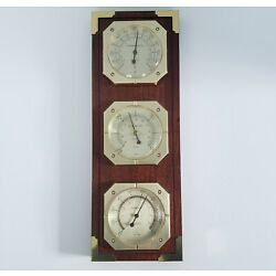 Kyпить Vintage Springfield Instrument Company Weather Barometer, Thermometer, Humidity  на еВаy.соm
