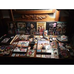 Kyпить Junk Drawer Lot : Watches, Knives, Jewelry, Stamps, DVDs, Stamps, Book, Cards... на еВаy.соm