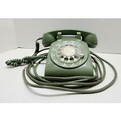 Kyпить Vintage Bell System Western Electric Rotary Dial Phone 500 C/D - GREEN на еВаy.соm