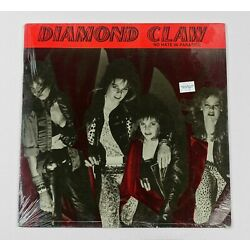 Diamond Claw - No Hate In Paradise EP  Blackjack Records Sealed In Shrink NEW!