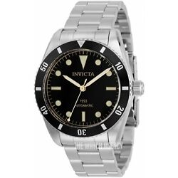 Kyпить RARE NEW INVICTA 1953 PRO DIVER MEN'S NH35 AUTOMATIC 40MM BLACK DIAL SS WATCH на еВаy.соm