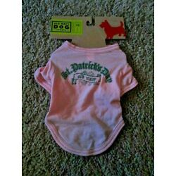 OLD NAVY DOG SUPPLY Girl's 100% Cot St Patrick's Day 2009 Tee XXS(9''-10'') NEW