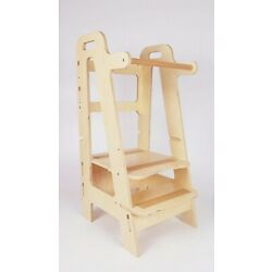 Kyпить Kitchen helper, Stool, Plywood Helper, Toddler Helper на еВаy.соm