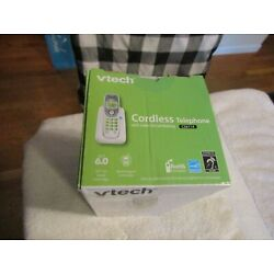 Kyпить VTech CS6114 DECT 6.0 Cordless Phone with Caller ID/Call Waiting White NIB на еВаy.соm