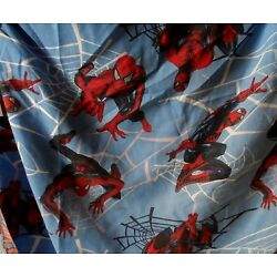 Kyпить Spiderman Twin Fitted Sheet. Dan River, 70% Polyester, 30% Cotton - Bright  на еВаy.соm