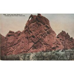 Kyпить Vintage Unposted Postcard Chrome Colorado Bear And Seal Rock на еВаy.соm