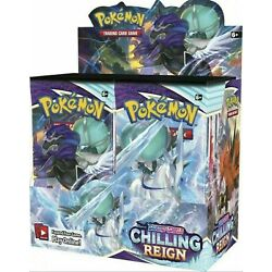 Kyпить Pokemon Chilling Reign Booster Box - Brand New and Sealed! Preorder Ships Fast! на еВаy.соm