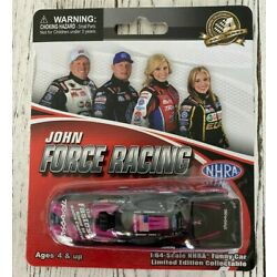 RARE Courtney Force 2013 PINK Traxxas NHRA Mustang 1/64 Funny Car