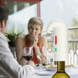 Electric Wine Aerator Pourer Decanter Portable Smart Wine Oxidizer Gifts